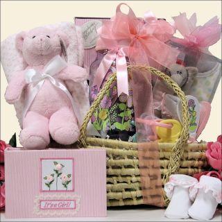 Great Arrivals Baby Girl Essentials Gift Basket Today $79.99