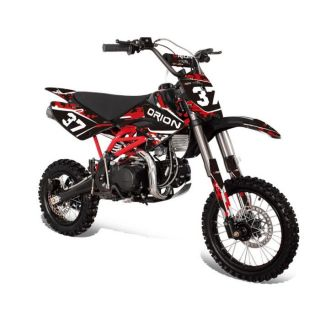 Dirt Bike 125 cc APOLLO ORION Noir/Rouge   Achat / Vente MOTO Dirt