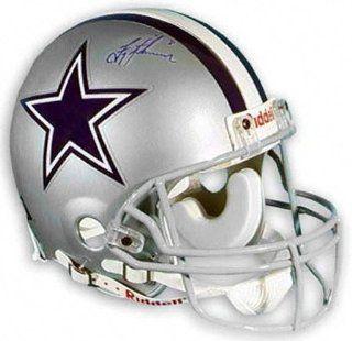 Troy Aikman Dallas Cowboys Autographed Pro Helmet Sports