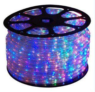 66 FT RGB Color Changing 4 Wire 110V 120V LED Rope light, Christmas