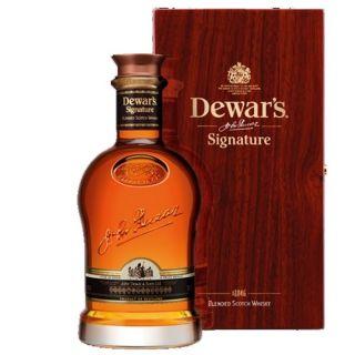 Dewars signature 70cl   whisky blend de Luxe   Ecosse   coffret