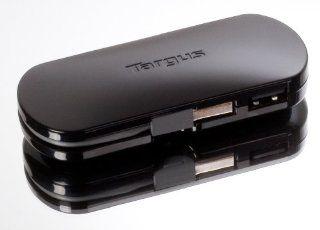 Targus 4 Port Mobile USB Hub ACH111US (Black) Electronics
