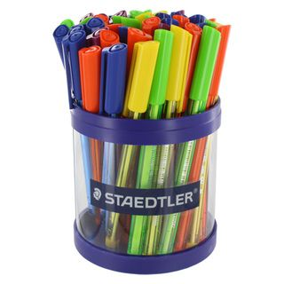 Staedtler Ball 432 Medium Point Ballpoint Pens (Pack of 50