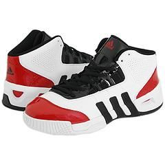 Adidas True Team Mid Running White/Black/University Red Athletic