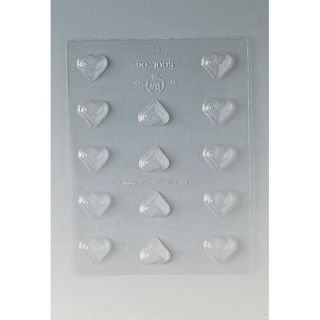 Paderno Heart 1.125 inch Chocolate Mold