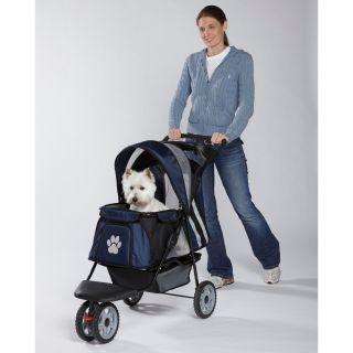 Merske  Large Red Comfy Dog Bike Trailer/ Stroller Kit