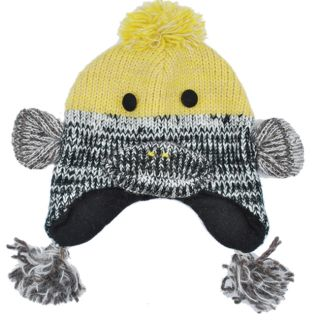 Kids Wool Fleece Lined Duck Beanie (Nepal)
