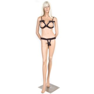 Hustler 2 pc Satin Show Me Bikini Set