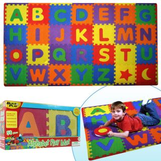 Build and Play 56 piece Alphabet Floor Mat (7 x 4)