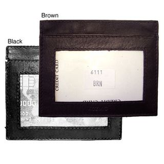 Mens Leather Credit/ Business Card Holder