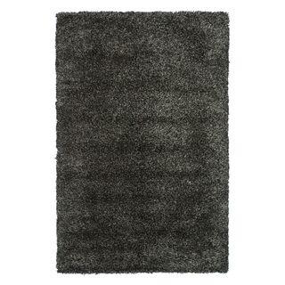 Hand woven Nolan Black/ Multi Wool Rug