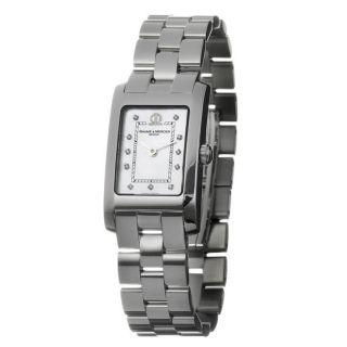 Baume & Mercier Womens Hampton Stainless Steel Quartz Watch