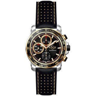 GV2 by Gevril Mens Explorer Chronograph Strap Watch