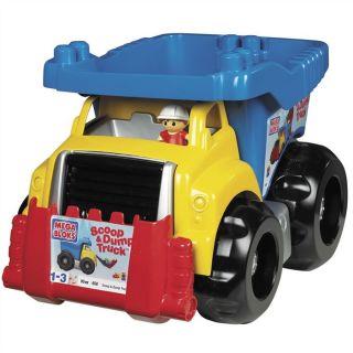Scoopn Dump Truck   Achat / Vente JEU ASSEMBLAGE CONSTRUCTION Scoopn