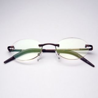 Rimless Oval Computer Glasses Today $21.49 2.0 (1 reviews)