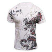 Star Lyoto Machida UFC 113 Walkout T Shirt [White], XXXL Clothing