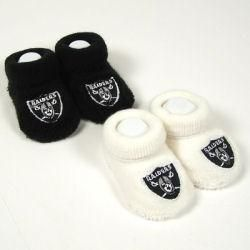 Oakland Raiders Infant Boys Socks (Pack of 2)