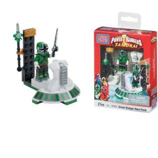 Megabloks   Power Rangers   Green Ranger   Le pack contient 1 figurine