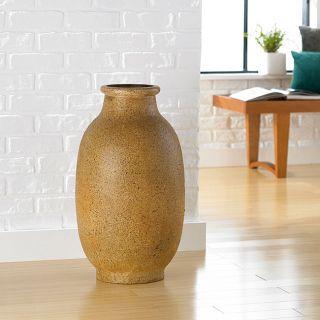 Natural Stoneware Decorative Large Vase (Indonesia)
