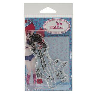 Stampavie Anne Cresci Clear Stamp Yolene 3 7/8 inches