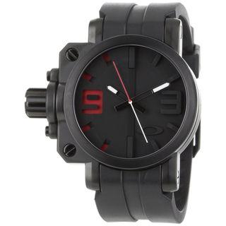 Oakley Mens Stainless Steel Gearbox Watch