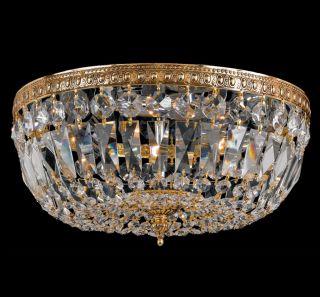 Richmond 2 light Olde Brass Crystal Flush Mount Today $97.99 4.6 (5