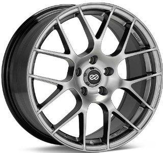 18x8.5 Enkei Raijin (Hyper Silver) Wheels/Rims 5x114.3/4.5 (467 885