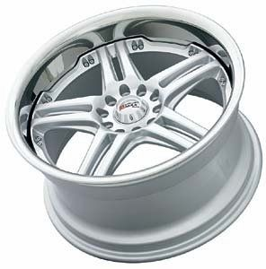 Primax Wheel 502 Hyper Silver Wheel (18x9.5/5x114.3mm)