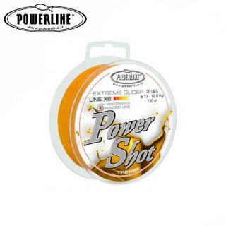 TRESSE DE PECHE POWERLINE POWER SHOT 130 M GOLD …   Achat / Vente