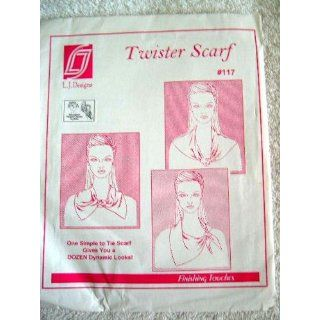TWISTER SCARF SEWING PATTERN #117 FROM L.J. DESIGNS: Everything Else
