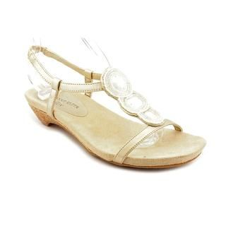 Anne Klein AK Womens Adria Man Made Sandals