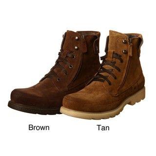 Robert Wayne Mens Granger Dual Zipper Leather Boots FINAL SALE