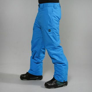 Rip Curl Mens Hinterland Blue Aster Ski Pants