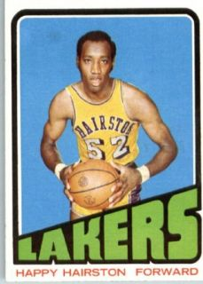 1972 73 Topps Basketball #121 Happy Hairston Los Angeles