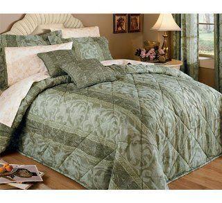 com Gabriella King Bedspread Set, 120 x 118 (GOLD)