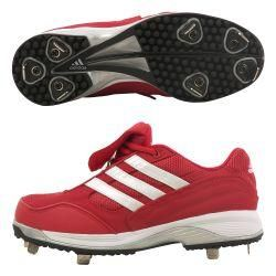 Adidas Mens Excel IC Low top Baseball Cleats