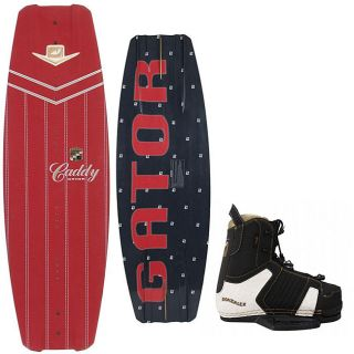 Gator Caddy Mens 135 Wakeboard/ Gonzalez Bindings