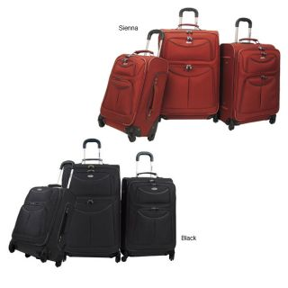 Olympia Dynasty 3 piece Spinner Luggage Set