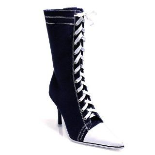 Sexy Baseball Shoes High Heel Sneakers 3 1/2 Inch Heel Pleaser 120