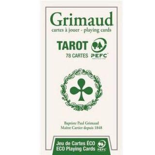 de Tarot   Qualité Grimaud PEFC Gamme verte   78 cartes Jeu de 78