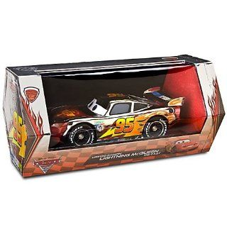 D23 Exclusive 124 Scale Silver Chrome Lightning McQueen Toys & Games