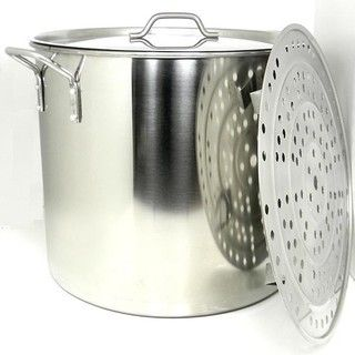 Prime Pacific 100 quart Heavy Duty Stainless Steel Stock Pot and