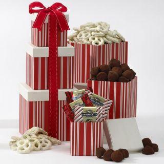 Ghirardelli Chocolate Galore Gift Box Tower