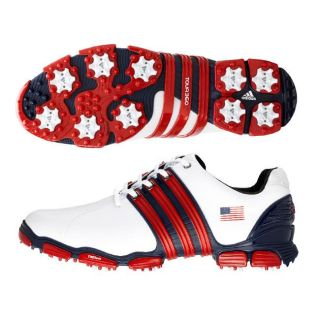 Adidas Tour 360 4.0 USA Flag Limited Edition Golf Shoes