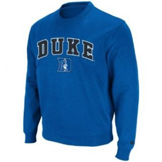 NCAA Duke Blue Devils Automatic Crewneck Pullover (Royal