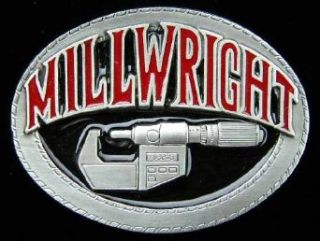 Millwright Colored Belt Buckle Clothing