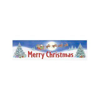 Banner Merry Christmas 45 X 12 Horizontal