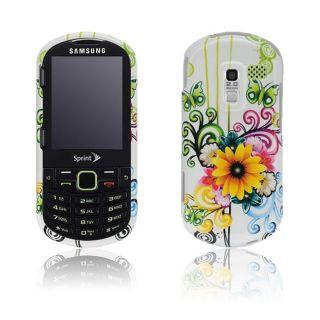 Samsung Restore M570 Floral Butterfly Design Crystal Case