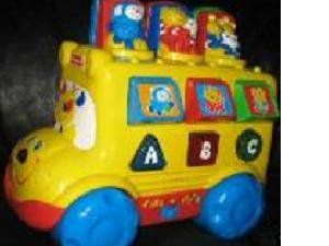 com Fisher Price Talking Musical~abc/ 123 Learning Bus Toys & Games