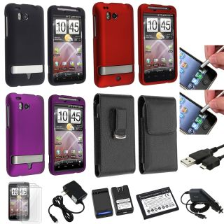 Case/ Charger/ Protector/ Battery/ USB Cable for HTC Thunderbolt 4G